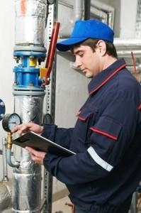 photo of commercial repairman