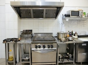 photo of commercial kitchen