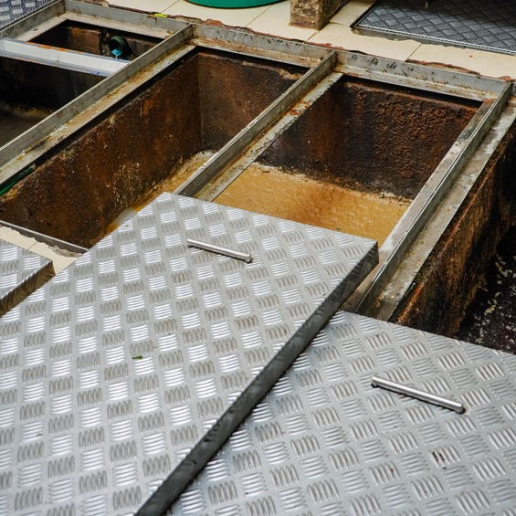 grease traps filled up