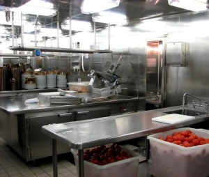 photo of industrial kitchen