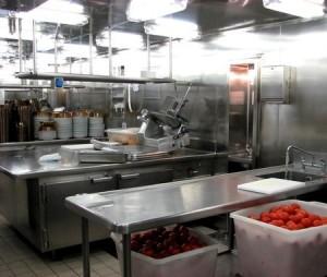 photo of industrial kitchen