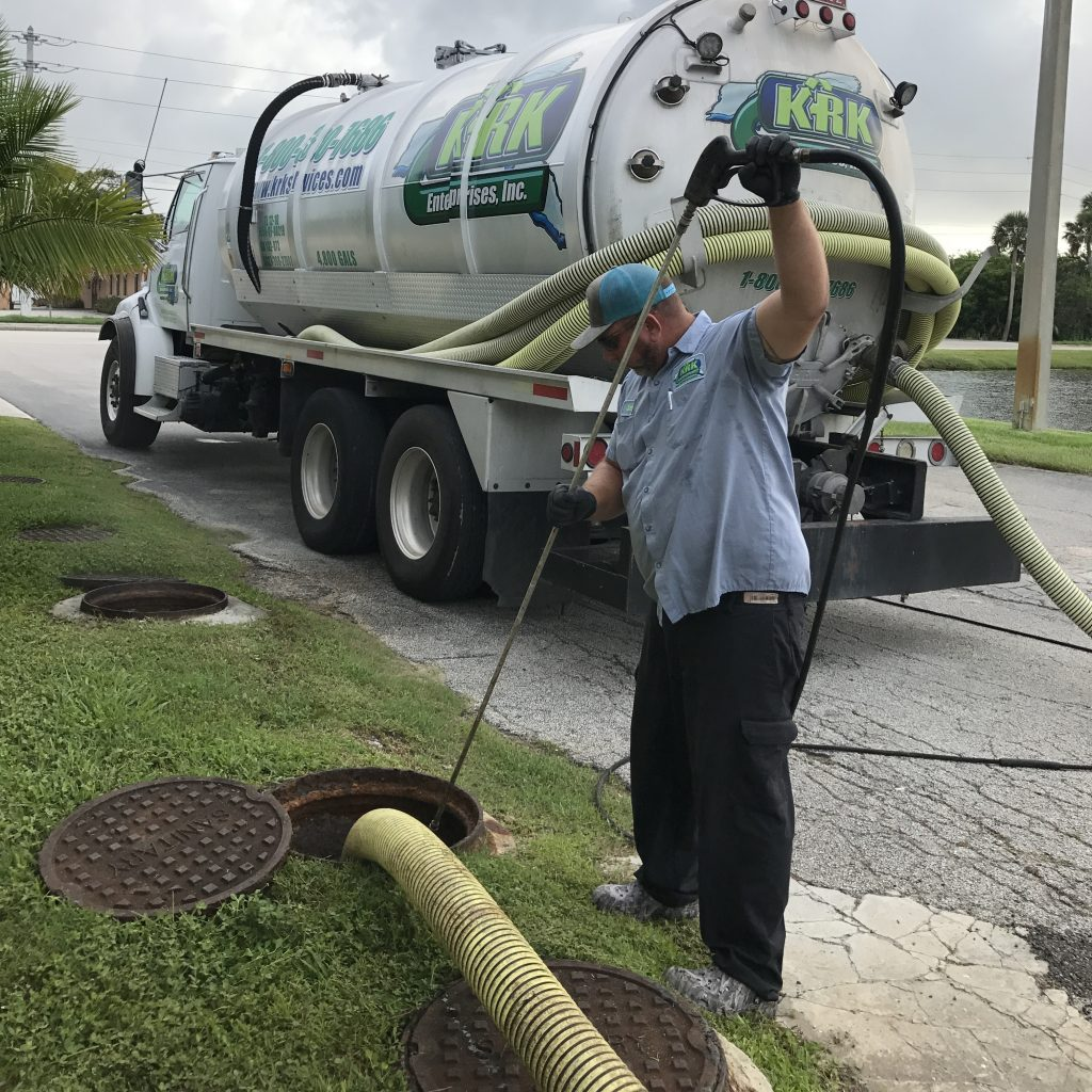 vactor truck and grease trap solutions