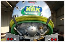 photo of KRK tank