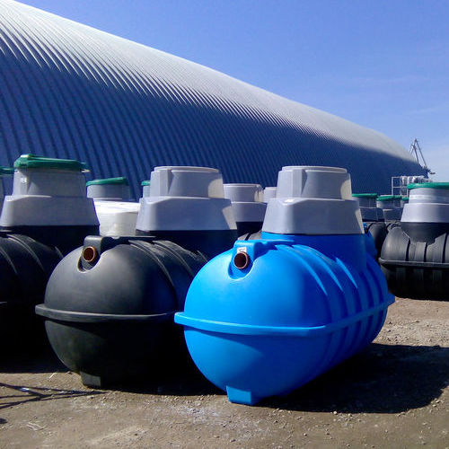 A Row of Septic Tank Vessels
