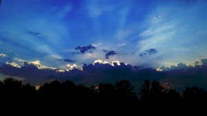 photo of inspirational clouds, light, sky